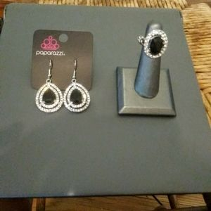 Earrings and ring set